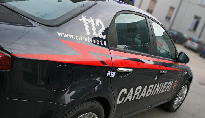 rapina Bar borgolavezzaro caffè Borgo arresto rapinatore Carabinieri Vespolate