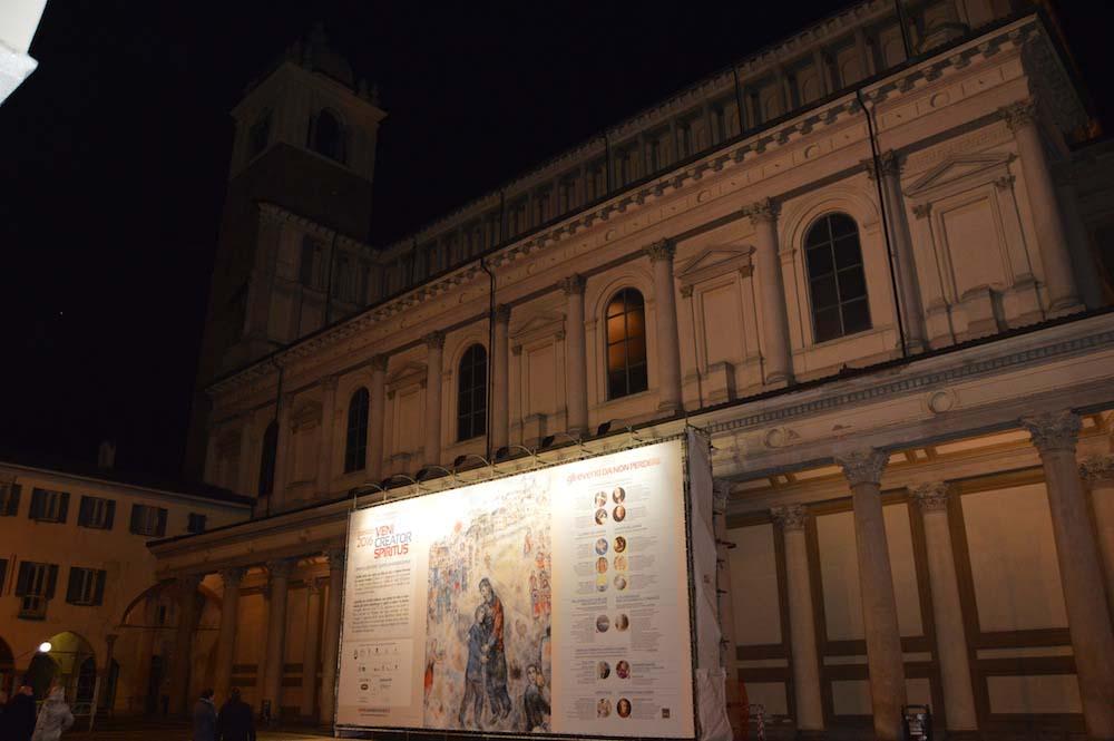 Nel mercoledì delle Ceneri inaugura Passio. Scoperta la riproduzione del dipinto di Chagall