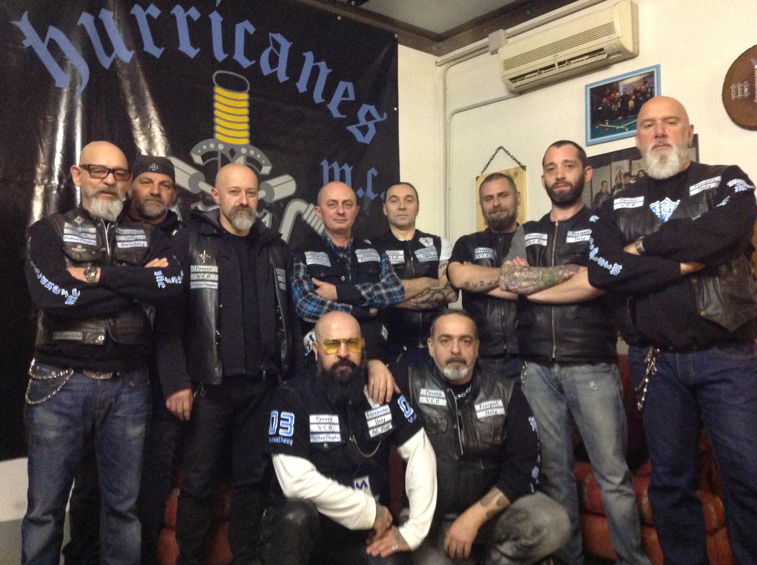 Hurricanes mc Italy Novara Vco e Comune di Galliate: motori accesi per la solidarietà
