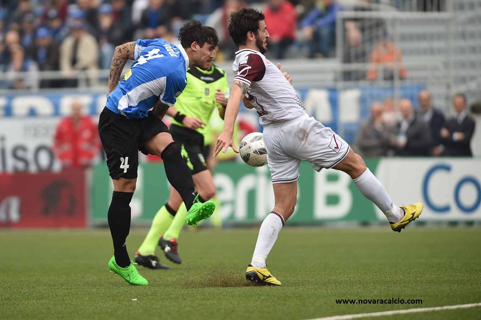 Per il Novara è beffa allo scadere: con la Salernitana il pareggio, amarissimo, arriva al 94' con una zampata di Gatto