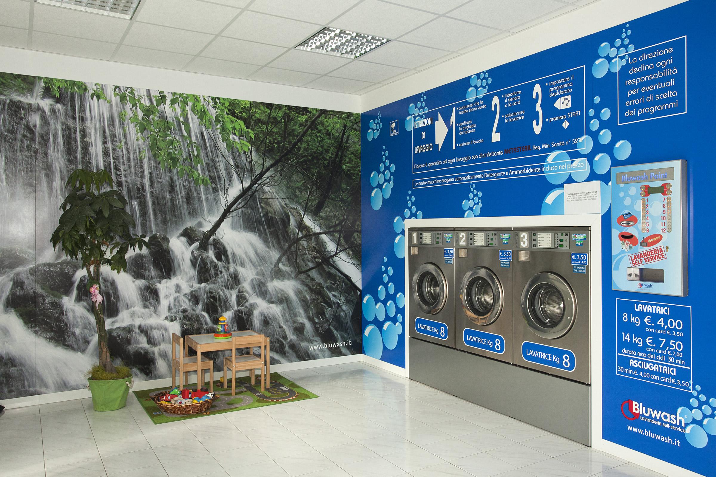 Ad Agorà, la lavanderia self service più grande di Novara e dintorni