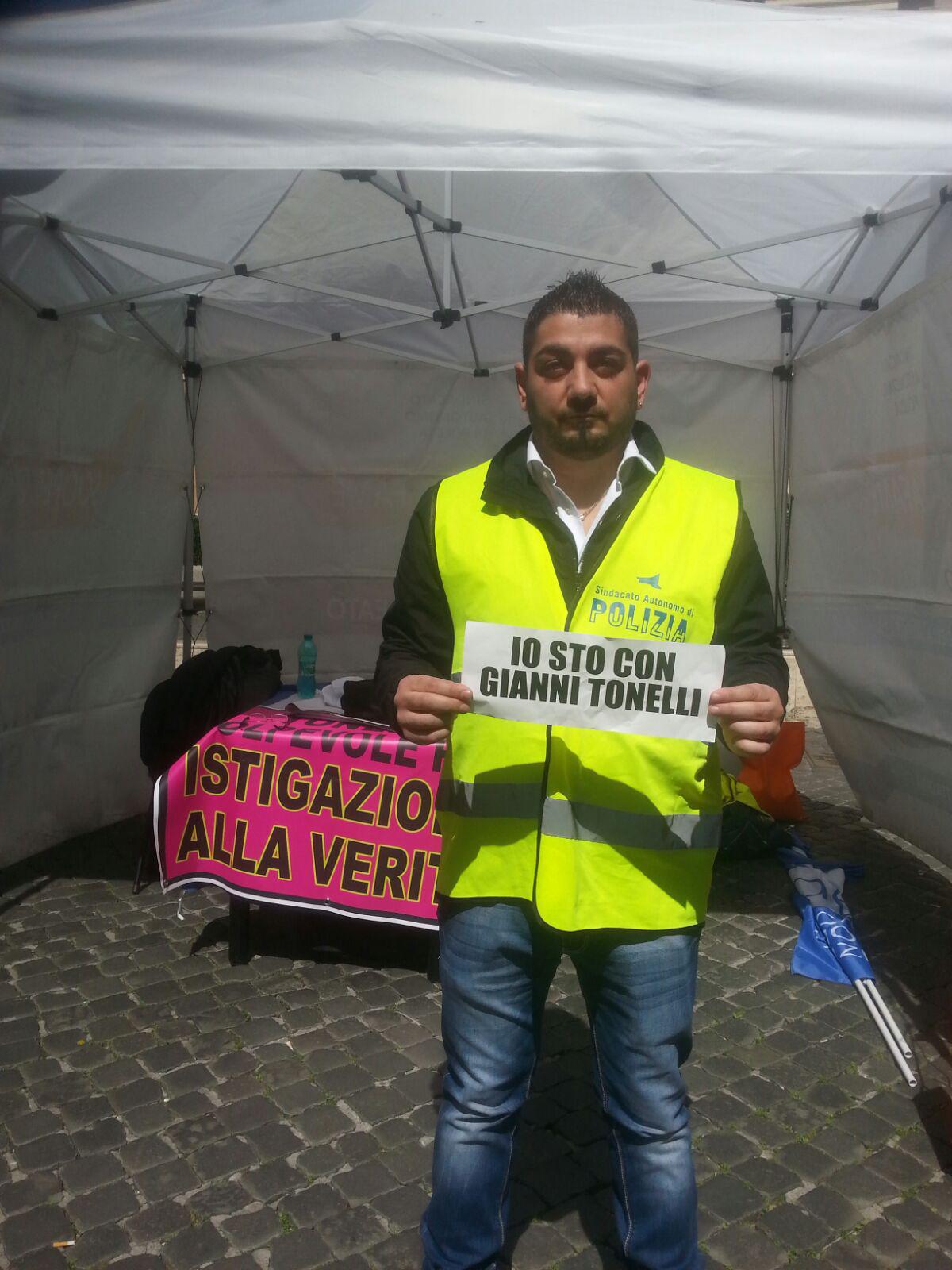 Sciopero della fame contro la debilitazione dell'apparato di Polizia