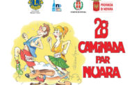 La Caminada par Nuara alla 28esima edizione: domani si parte da piazza Martiri