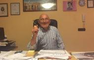 Adelchi, 84 anni, costruttore edile nella vita, poeta per passione