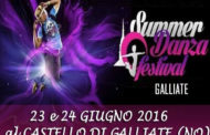 Summer Danza Festival: a Galliate si balla al Castello