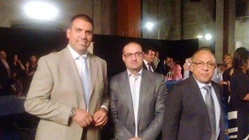 Daniele Andretta (capogruppo di Io Novara), Pietro Gagliardi e Michele Contartese