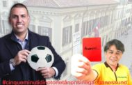 Novara in blu e l'attacco isterico di Murante che espelle Andretta...