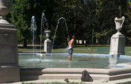 Un bel bagnetto nella fontana del Parco dei Bambini???!!!