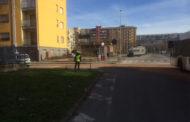 Sversamento di gasolio: ripulita via Adamello e strada Rizzottaglia