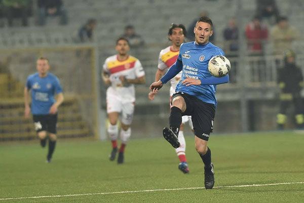 Contro il Benevento è vittoria del Novara