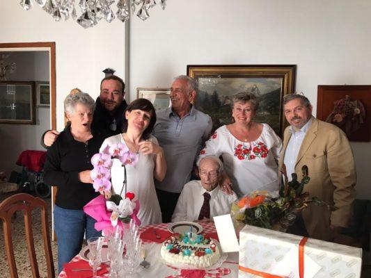 Centenari in festa a Novara