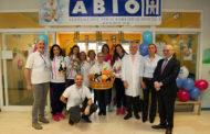 Peluches donati alla Pediatria del Maggiore dalla Igor Volley