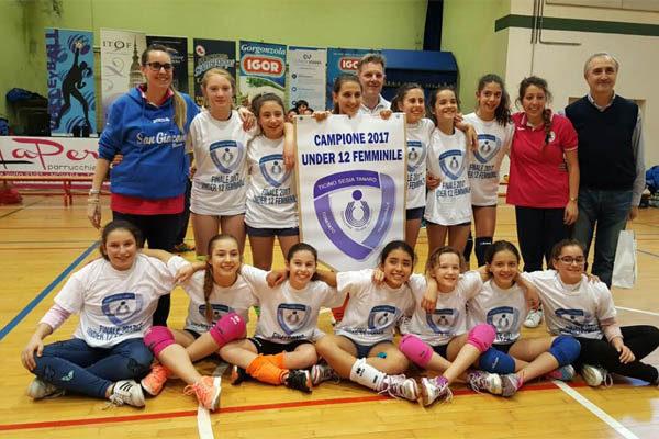 Polisportiva San Giacomo: le campionesse del volley under 12