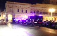 Centro città ancora presidiato dai Carabinieri nella notte
