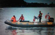 Coppia incagliata nei canneti del lago Maggiore