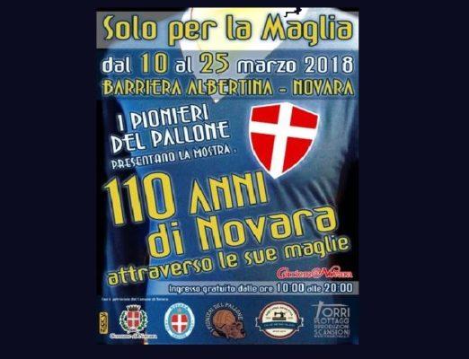 Un viaggio lungo 110 anni attraverso la gloriosa maglia azzurra del Novara calcio