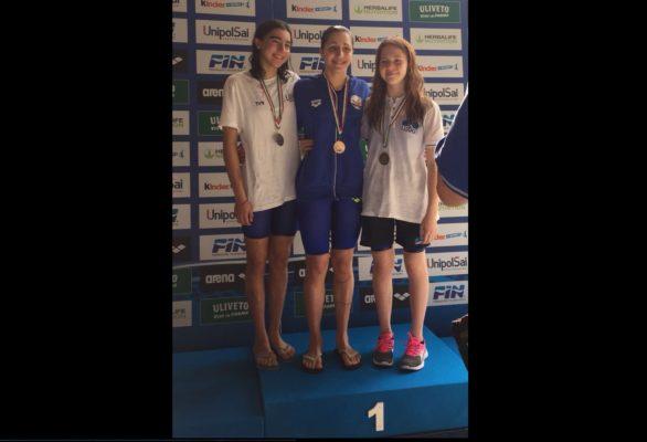 Agli italiani giovanili di nuoto, medaglia d'argento per Andrea Maia Narchialli della Libertas Novara