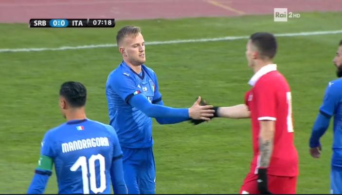 L'Italia vince in Serbia per la prima volta, con un ottimo Dickmann che sfiora pure il goal