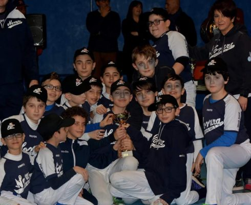 I ragazzi del Baseball Novara