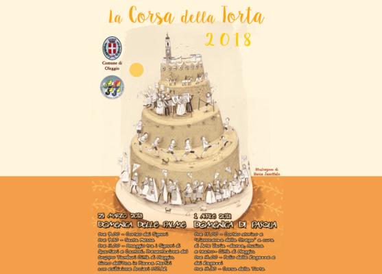 """Pasqua nella tradizione, ad Oleggio si prepara la storica """"Corsa della torta"""""""