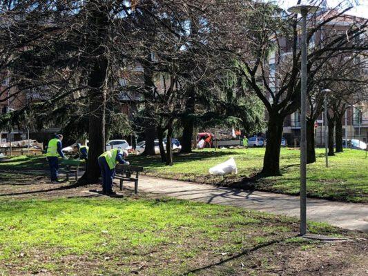 Cantieristi e detenuti completano il ripristino e la pulizia del Parco Muccioli