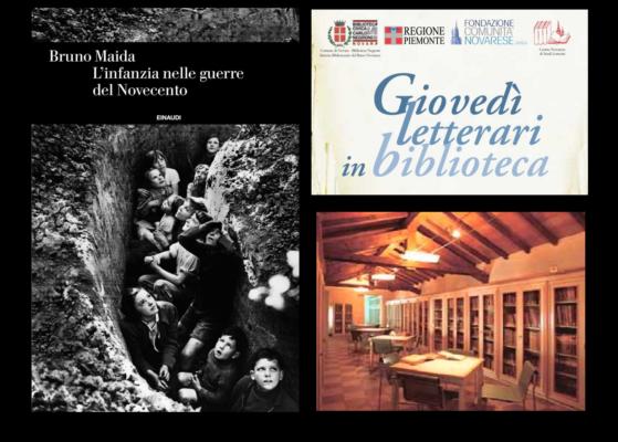 """""""L'infanzia nelle guerre del Novecento"""" se ne parla alla Biblioteca Negroni nel quarto giovedì letterario"""