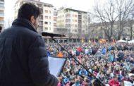 """Più di 200 giovani novaresi in marcia contro le mafie: """"Sono la vera speranza"""""""