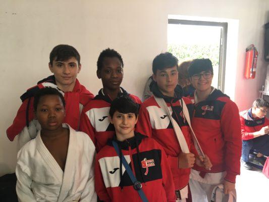 Al Trofeo Internazionale Nela il centro Judo Novara 5° assoluto