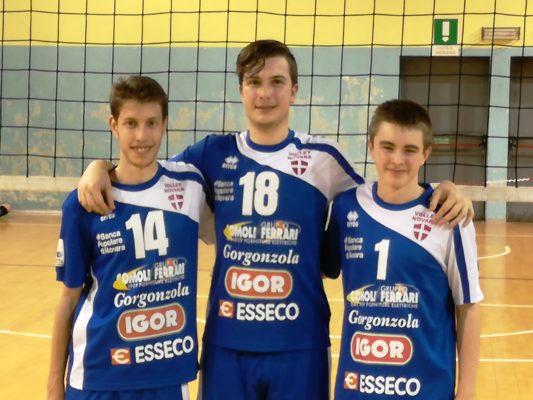 Novara Volley serie C D Castano, Abbiati e Pedullà