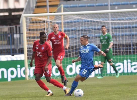 Pescara Novara 1-1 come previsto