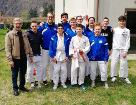 Incetta di medaglie al Trofeo Nela per la Judo Ju Jitsu Novara