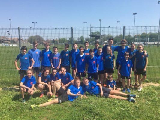 Team Atletico Mercurio 4 volte sul podio ai Campionati Regionali di staffetta