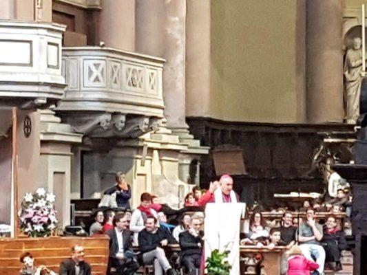 Mercoledì delle Ceneri, studenti in Duomo col vescovo