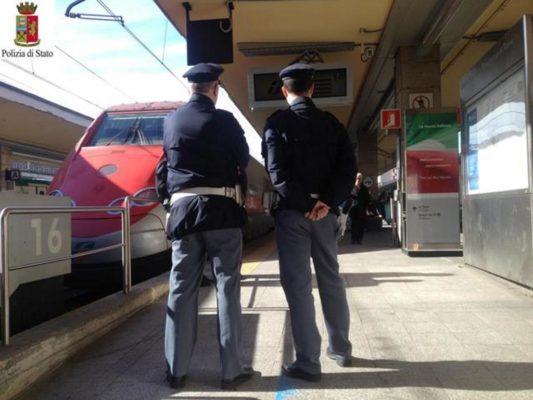 Week-end Pasquale di controlli sui treni. La Polfer di Novara blocca le intemperanze di un ubriaco
