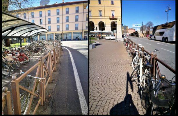 divieto biciclette stazione novara