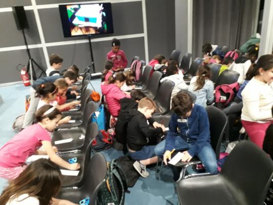 Benvenuta Natura bambini scuole Primarie Salone del Libro