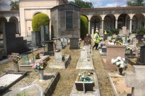 parte dal cimitero la sperimentazione