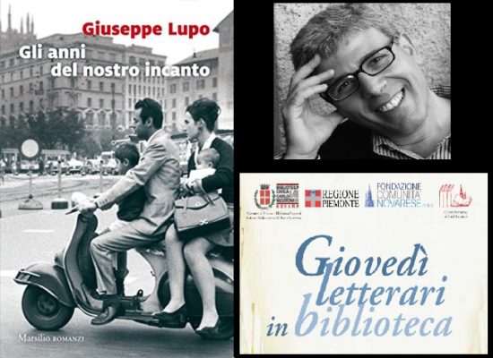 giovedì letterari Biblioteca Negroni Giuseppe Lupo
