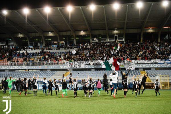 La Juve in rosa giocherà la Champions a Novara