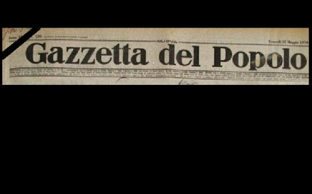 E' morto il giornalista Mario Giordano, padre dell'ex Sindaco di Novara Massimo