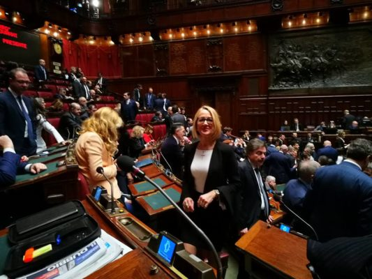 """Mirella Cristina in Comm.Giustizia:""""Intervenire sulla riforma dei tribunali fallimentari"""""""