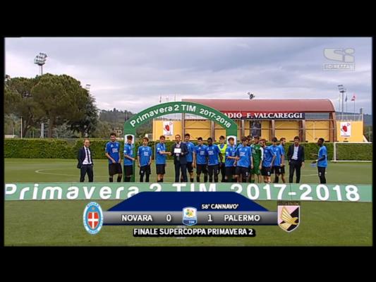 Finale Supercoppa Primavera 2. Gli azzurrini cedono di misura al Palermo