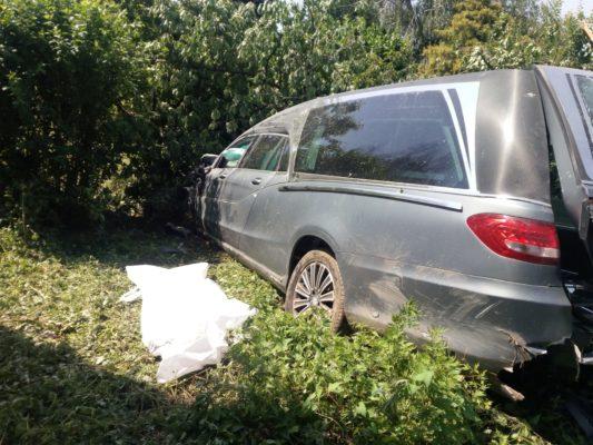 donna jogging uccisa carro funebre impazzito Galliate