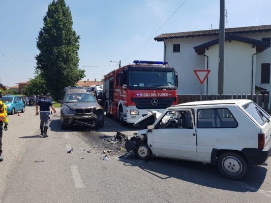 Scontro fatale, donna deceduta ad Oleggio