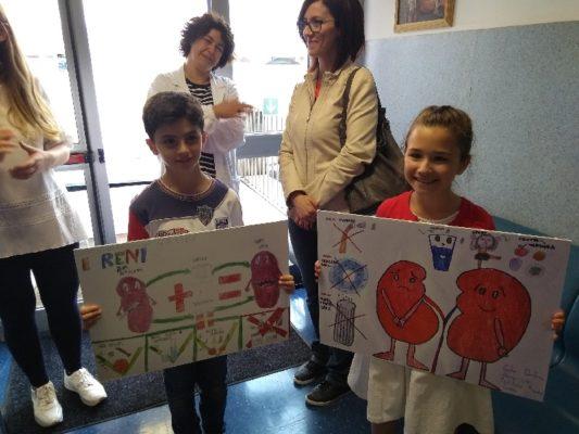 Il Rene e la Salute della Donna; Premiati i disegni dei bimbi vincitori