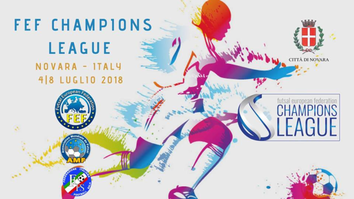 Futsal Champion League Novara calcio a 5