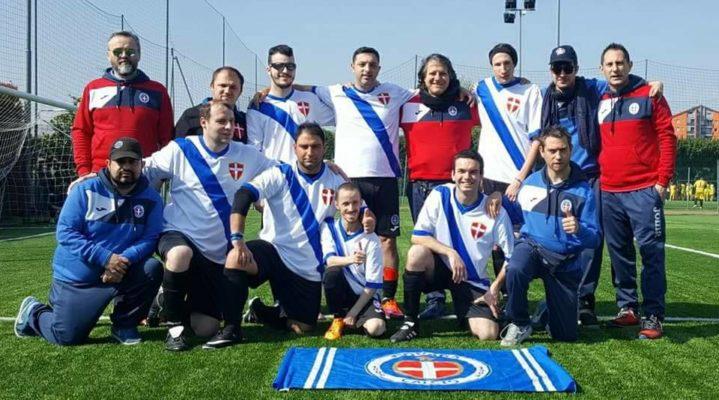 Novara calcio For Special in senato Fabio Calcaterra