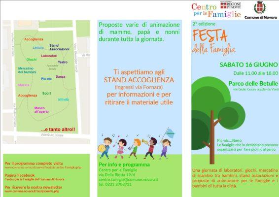 Festa della Famiglia Parco delle Betulle Novara