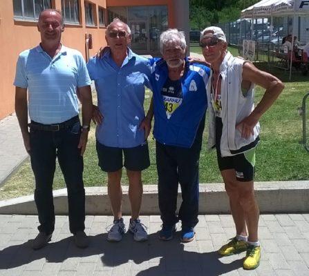 Sette medaglie agli italiani: l'Amatori Master Novara 1ª società del Piemonte