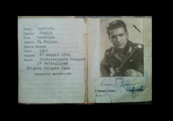 E' morto a Novara il partigiano Guerrino Comoli, le sue ceneri verranno disperse sul Monte Rosa